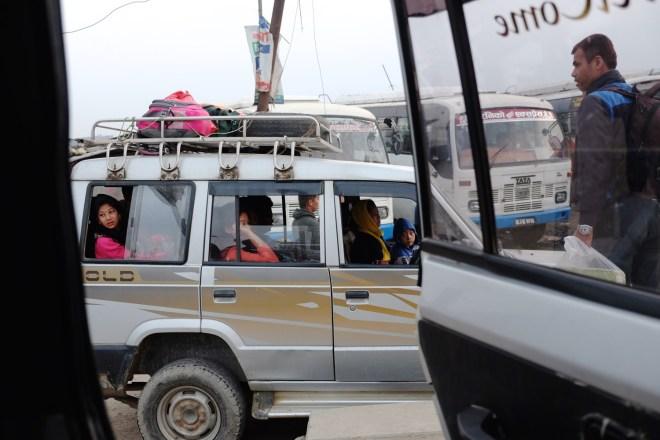 Nepal, shared jeep