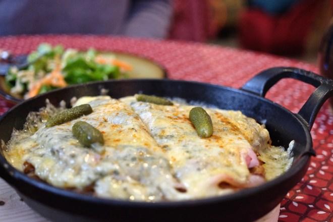 croûte au fromage, Jura