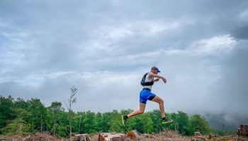 Nils läuft mit dem Scott Kinabalu Ultra RC