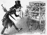 הנרי ברג מוצג כבכיין שנפרד מכלבים המיועדים למות בקרבות. הנרי ברג (1813 – 1888) היה אחד החלוצים המרכזיים במאבק לזכויות בעלי חיים באמריקה וזכה לכינוי 'המלאך במגבעת'. הוא פעל נמרצות נגד התעללות בסוסים ונגד קרבות כלבים – פעולות אשר ייחסו לו שנאה כלפי בני אדם (משום שפגע בפרנסת העגלונים ומפעילי הקרבות). ברג היה נתון תחת מתקפה תקשורתית וחברתית ואף תחת איומים על חייו, אך המשיך בפועלו. בנוסף, הקים את הארגון הראשון בעולם נגד התעללות בילדים.