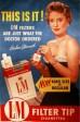 """פרסומת לסיגריות - אלו הסיגריות שהרופא הורה לעשן. בעבר, אישה שעישנה סיגריה בפומבי בניו יורק – נעצרה על ידי רשויות החוק. איך ומדוע הפך עישון סיגריה ע""""י נשים מטאבו חמור לסמל של שחרור האישה?"""