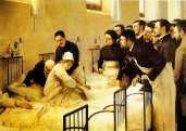 בית חולים במאה ה-19. במאה ה-19 התבצעו ניסויים רפואיים מזעזעים בנשים עניות שלא יכלו להתנגד. פמיניסטיות שנקלטו למקצועות הרפואה הכירו את הפרקטיקה הזו של ניסויים בנשים עניות, והחלו להתנגד גם לניסויים בבעלי החיים, וזאת מתוך הבנה עמוקה ובסיסית שלא ניתן להצדיק פגיעה בחלש עבור תועלת החזק.