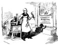 """כרזה בשם 'רק צעד אחד' שפורסמה ע""""י פעילות נגד ניסויים בבע""""ח בשנת 1913 המציגה מדען שמבצע ניסויים בבע""""ח, אך מתכנן לבצע ניסויים גם בבני אדם חסרי ישע שנמצאים בבתי חולים של צדקה. במשך 200 שנה, מדענים ביצעו שלל ניסויים על אוכלוסיות מוחלשות בחברה (תינוקות, נכים, יתומים, נשים, שחורים וכו'). המאמר מציג סקירה היסטורית חלקית של אותם הניסויים, הכוללת את הרטוריקה ששימשה את המדענים להצדקת הניסויים, ואת ההתנגדות למוסד זה."""