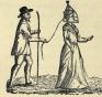 גבר מוליך ברצועה אישה סוררת ב'מצעד הבושה' - על האמצעים להשתקת נשים שמפרות את הסדר החברתי.