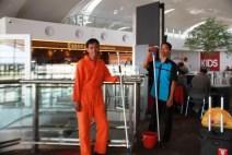 Arif & Amirhan Di Kualanamu