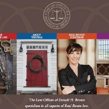 Attorney web design in New Haven