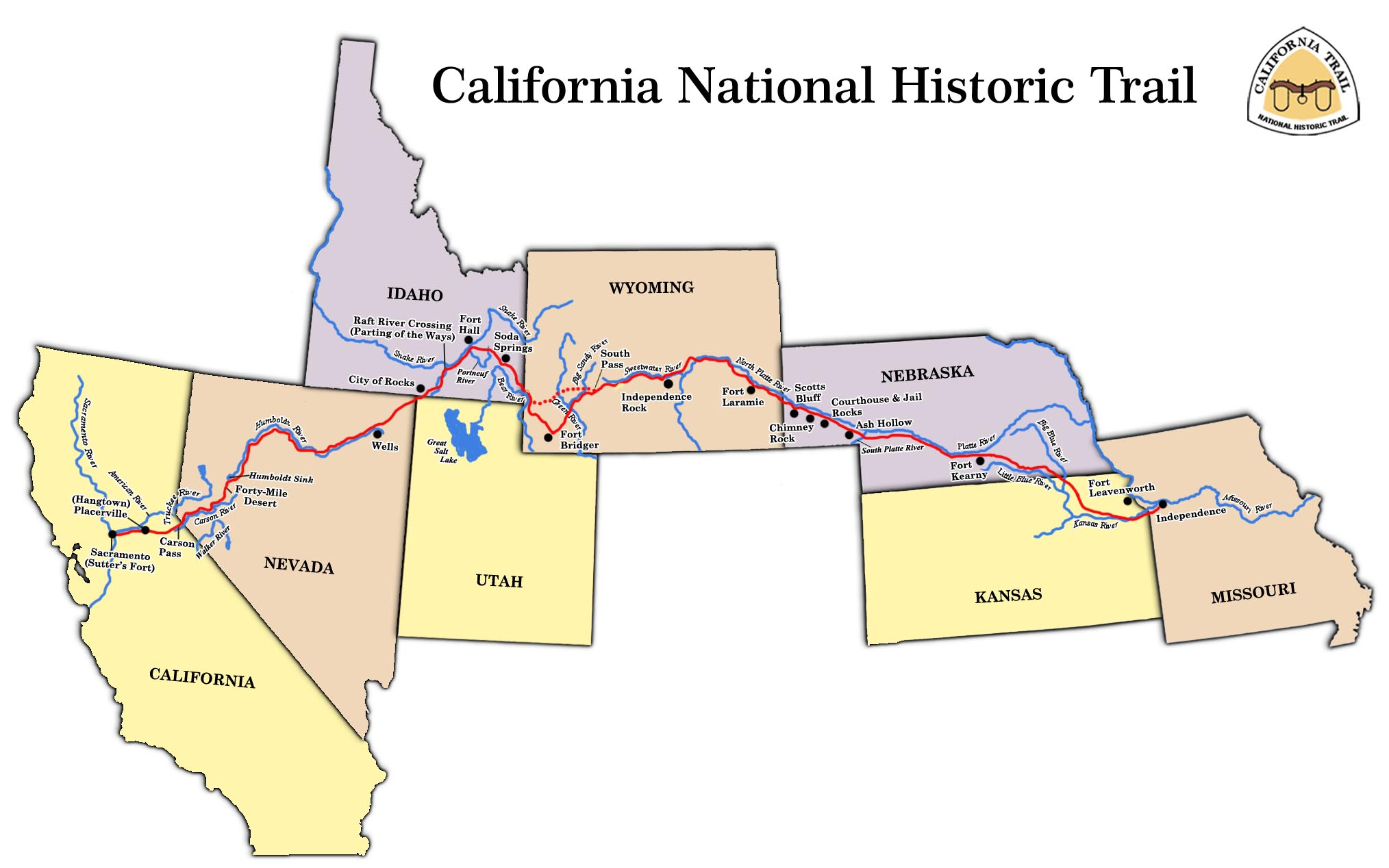 Odyssey California National Historic Trail Cnht