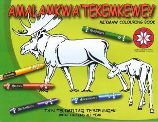 Amalamkwa'Tekemkewey: Mi'kmaw Colouring Book