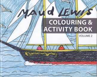 Maud Lewis Colouring Book Volume 2