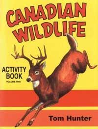 Canadian Wildlife Activity Book: Vol 2