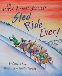 Iciest, Diciest, Scariest Sled Ride Ever !