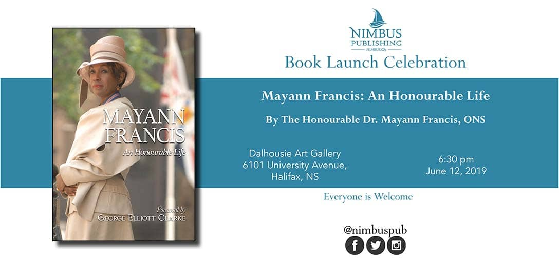 Mayann Francis Book Launch