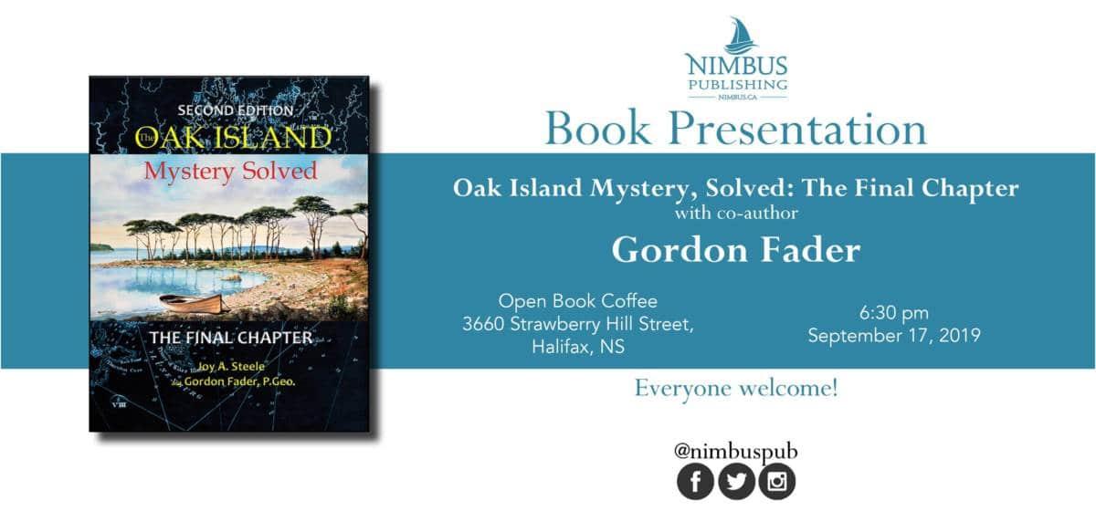 Oak Island Book Launch
