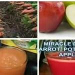 Health Benefits of Apple, Carrot and Potato Juice