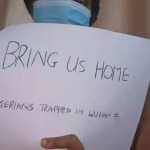 """Coronavirus: """"Bring us home"""" Nigerians trapped in Wuhan (China) begs Federal Government (Photos)"""
