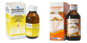 Cough syrups in Nigeria