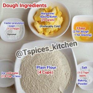 Healthy Nigerian meat pie recipe