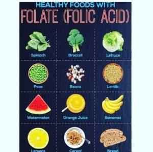 Nigerian Foods Rich in Folic Acid and Why Folic Acid is Vital in Pregnancy.