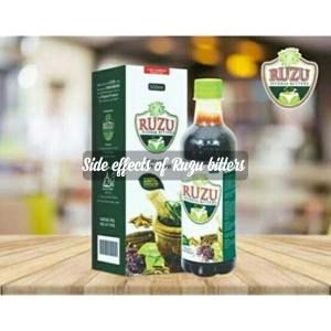 Side effects of Ruzu herbal bitters
