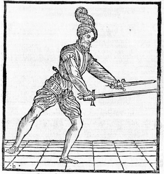 Coda Longa e alta de l'épée & porta di ferro stretta du poignard