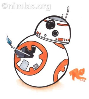 BB-8 Daily Creativity, the Droid we're looking for.