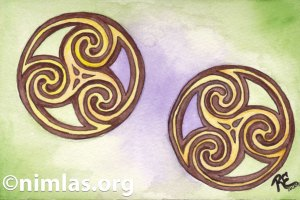 Daily Creativity: Celtic Circles