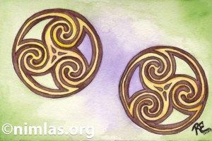 Daily Creativity: Celtic Circles