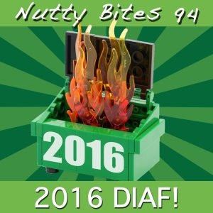 Nutty Bites 94: DIAF 2016