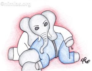 Daily Creativity: Elephant Judo