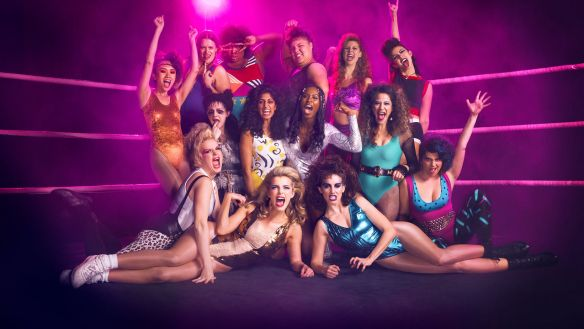 Nutty Bites: GLOW (The Gorgeous Ladies of Wrestling) - Dinner and a Movie - Dog Days of Podcasting 2017