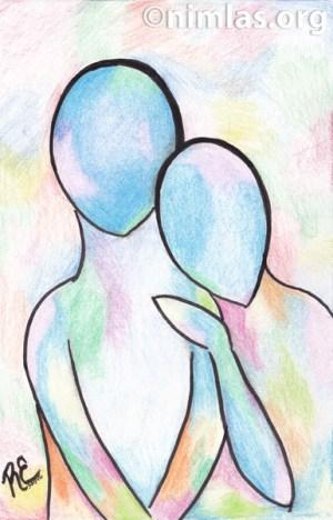Daily Creativity: Holi - Krishna & Radha