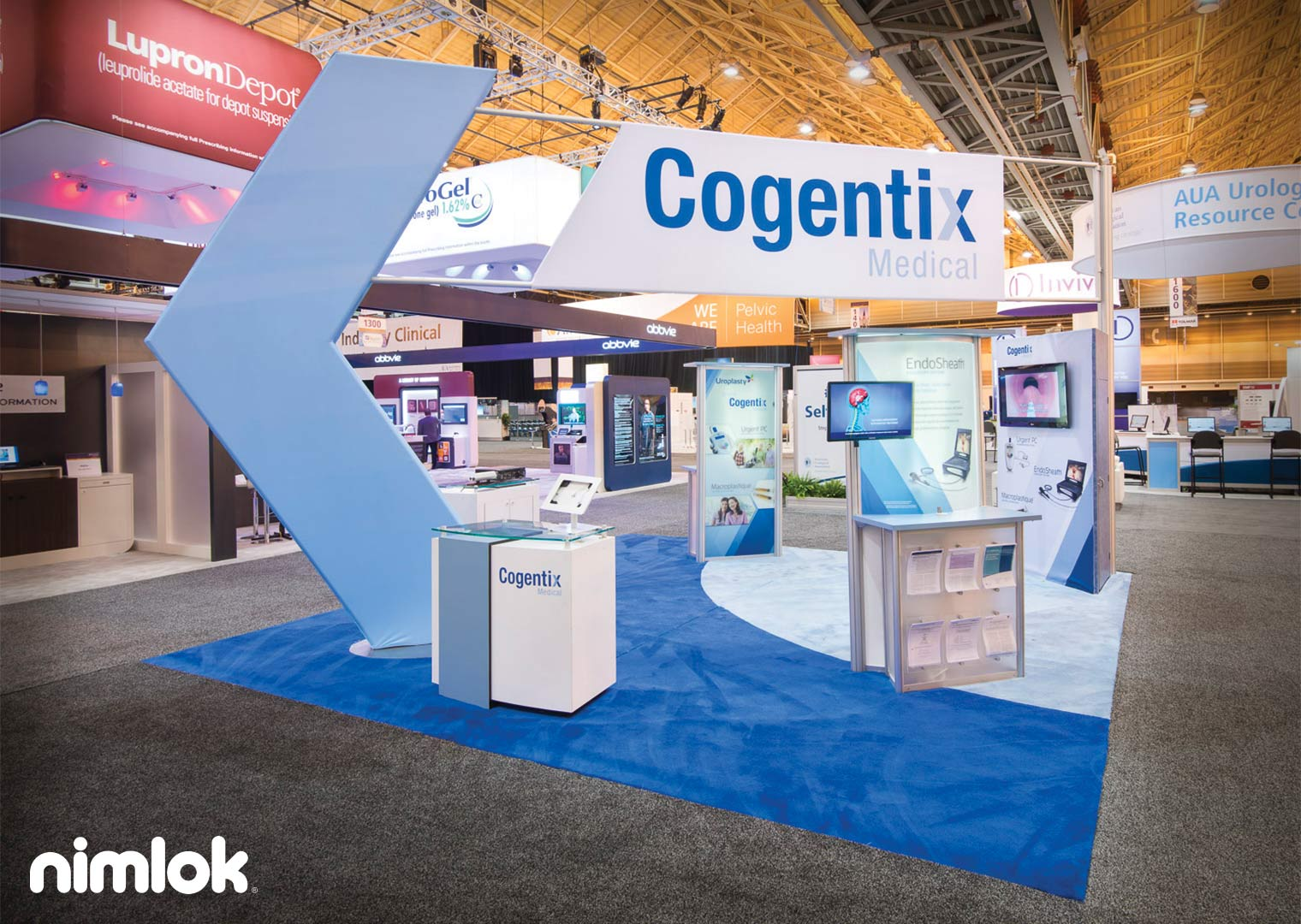 custom modular trade show exhibit