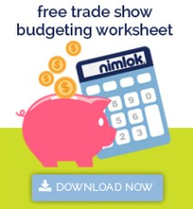 trade show budget spreadsheet