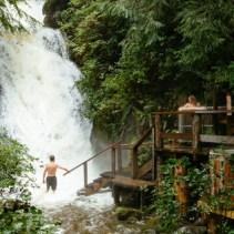 Nimmo Bay Waterfall Hot Tub