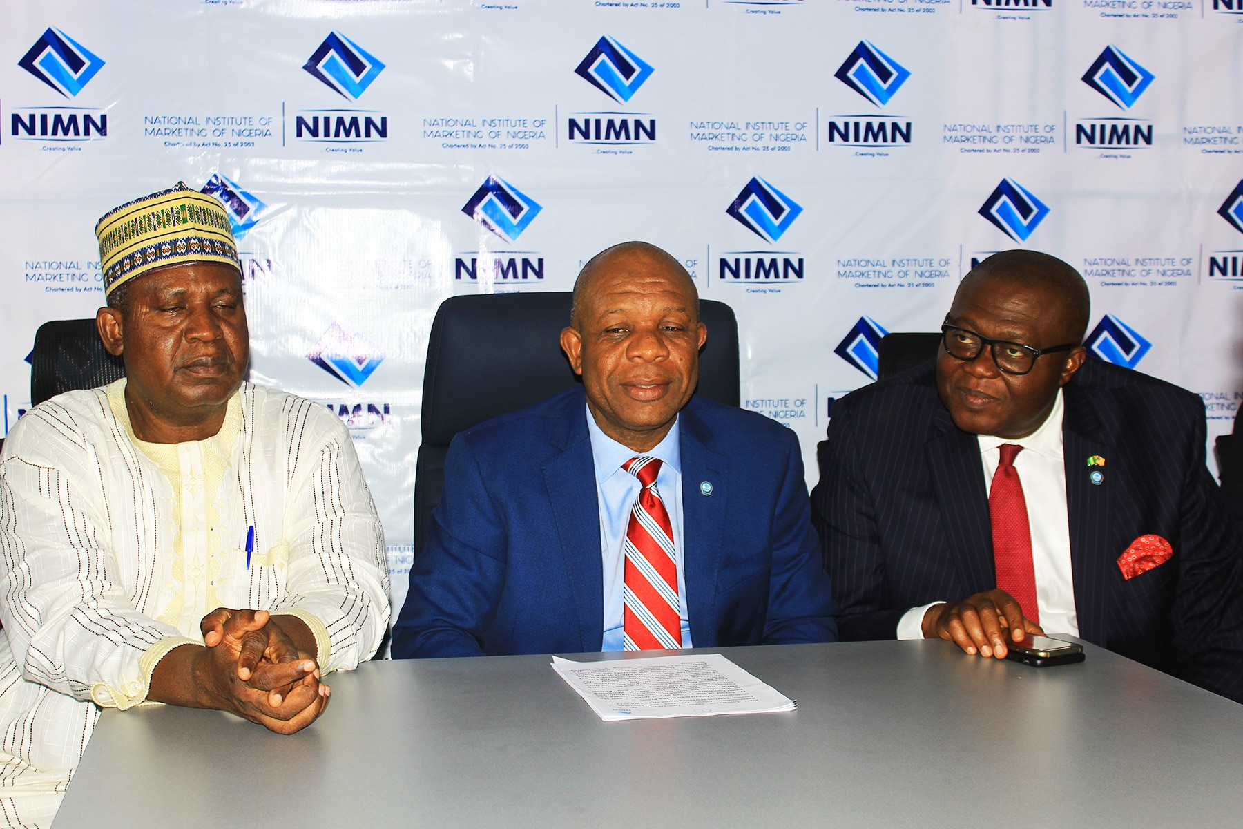 Press Conference Speech Delivered by Mr. Tony Agenmonmen, fnimn, President and Chairman of Council, NIMN, at Marketing House on 25 April 2019