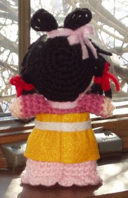 Shuurei amigurumi(back)