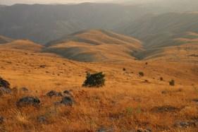 Ağbaba'dan dağlık bölgenin görünümü