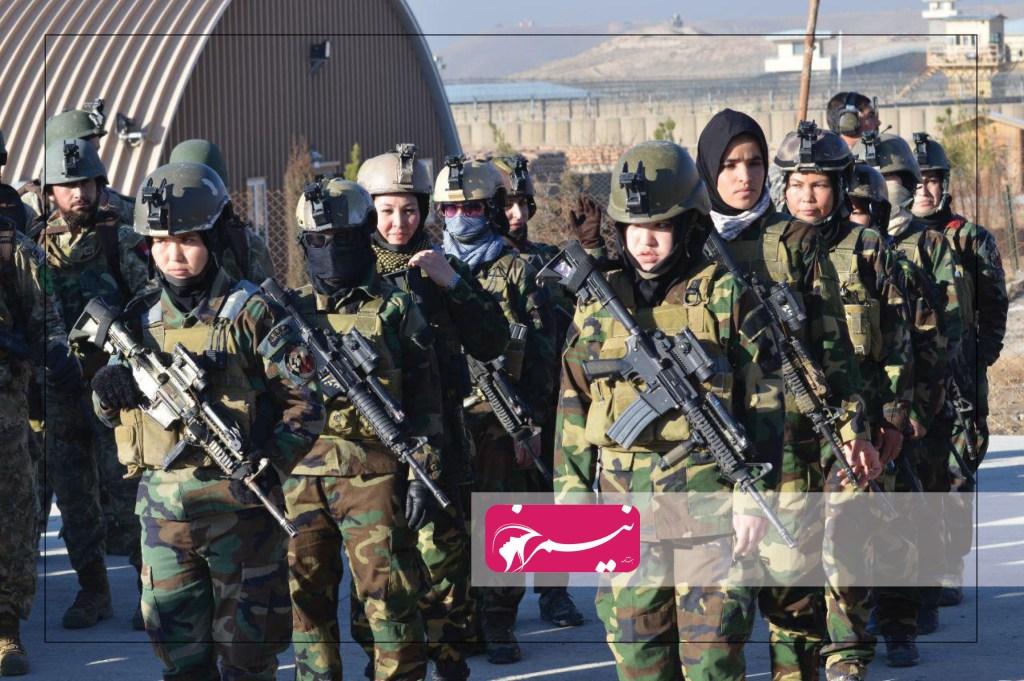 زنان عضو اردوی ملی افغانسان