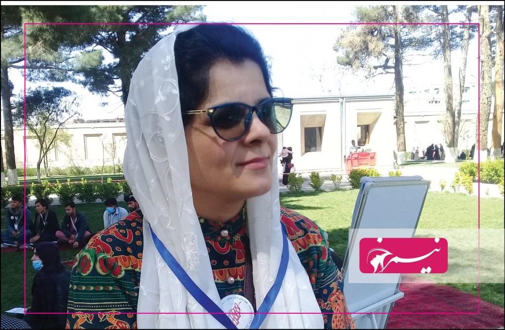 لیلما ناصری، رییس کمیتههای مکانیزم افغانستان برای صلح همه شمول