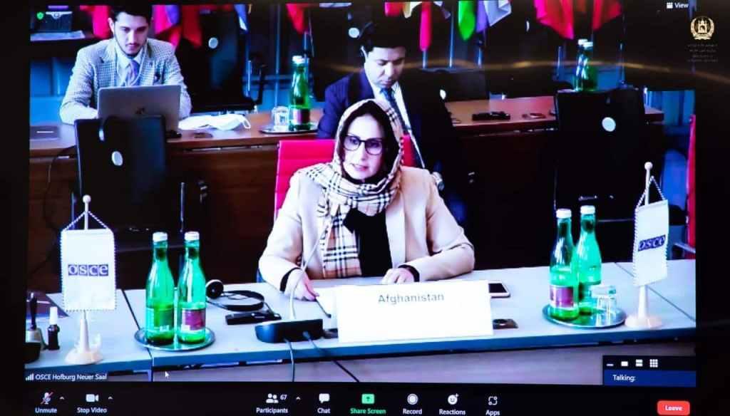 منیژه باختری، سفیر و نماینده دایمی افغانستان مقیم ویانا-اتریش
