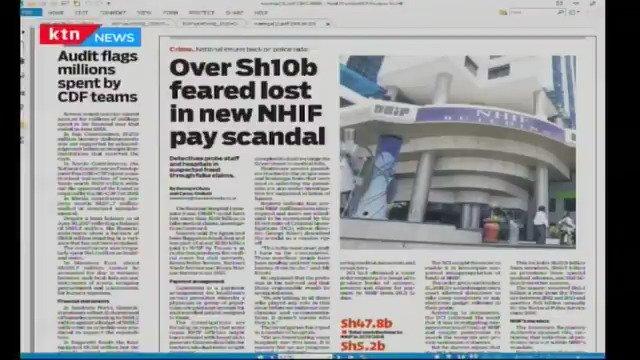 NHIF Corruption Scandal