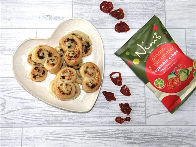 Nim's tomato feta and thyme Palmier recipe inspired by GBBO