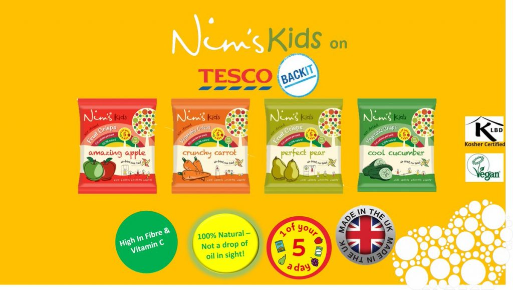 Nim's fruit crisps launch crowdfunder campaign to launch nutritious kids snack