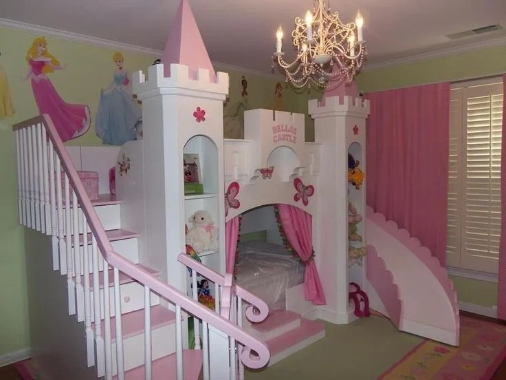 20 Beautiful Children S Room Designs With Bunkbeds