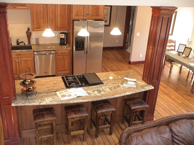 Galley Kitchen Island Floor Plans