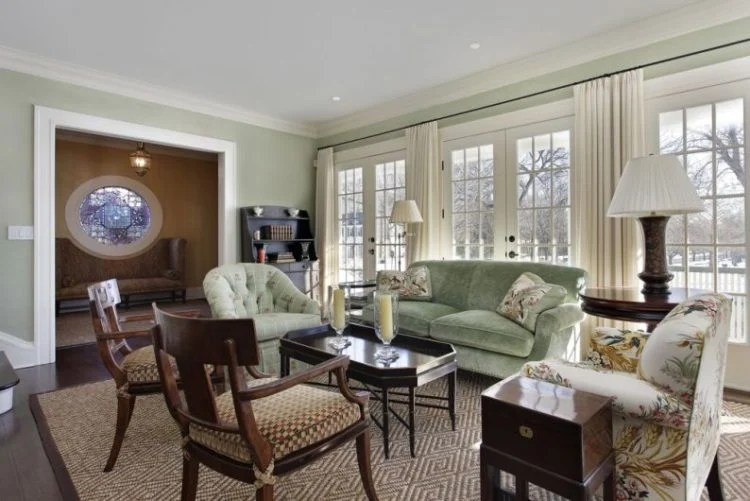 20 Gorgeous Transitional Style Living Room Ideas