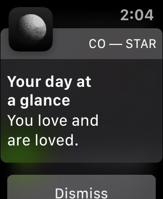 You love and are loved.