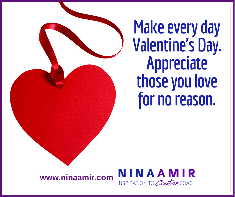 Valentines Day Reminds Us To Appreciate Those We Love