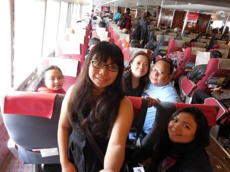 we finally arrived in hongkong from macau!~