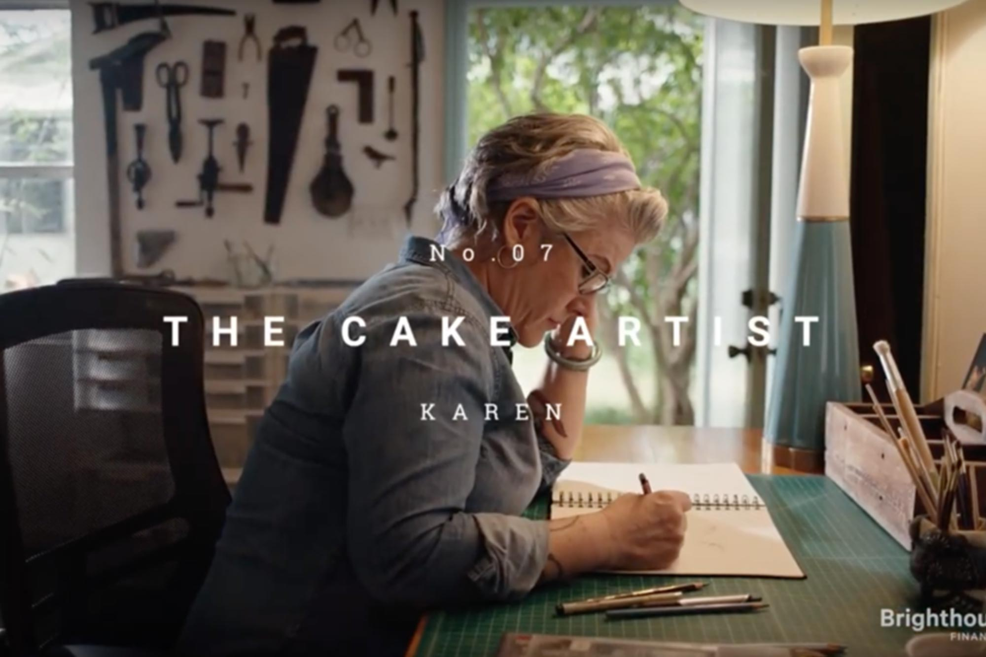 Brighthouse Financial — The Cake Artist